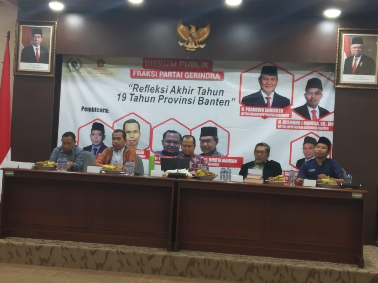 Banten Belum Ada Kemajuan di Tangan WH