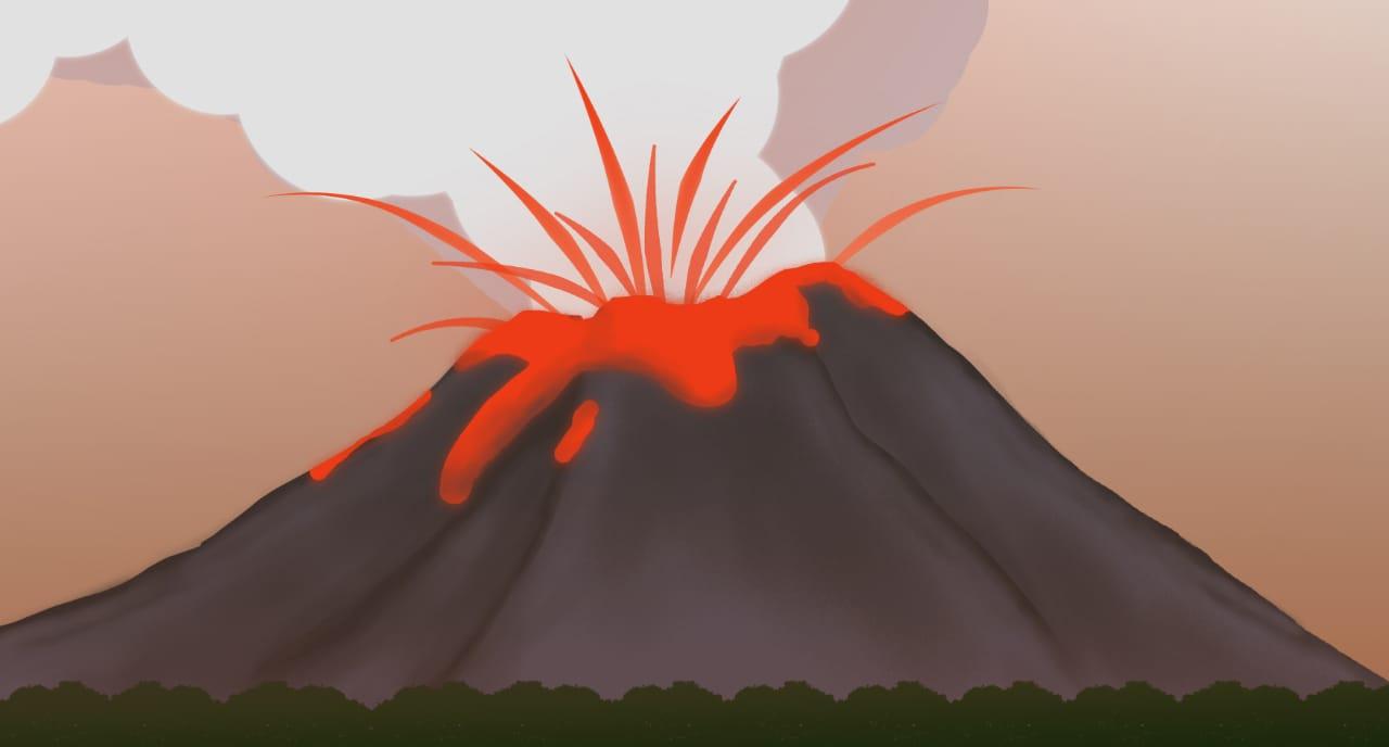 Gunung Anak Krakatau Kembali Meletus Kolom Abu Mencapai 1.000 Meter