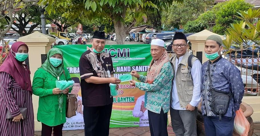 ICMI Banten Donasi Masker