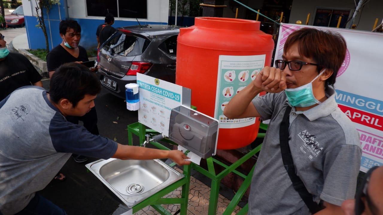 Untirta dan Relawan Banten Melawan Corona, Distribusi Hasil Donasi