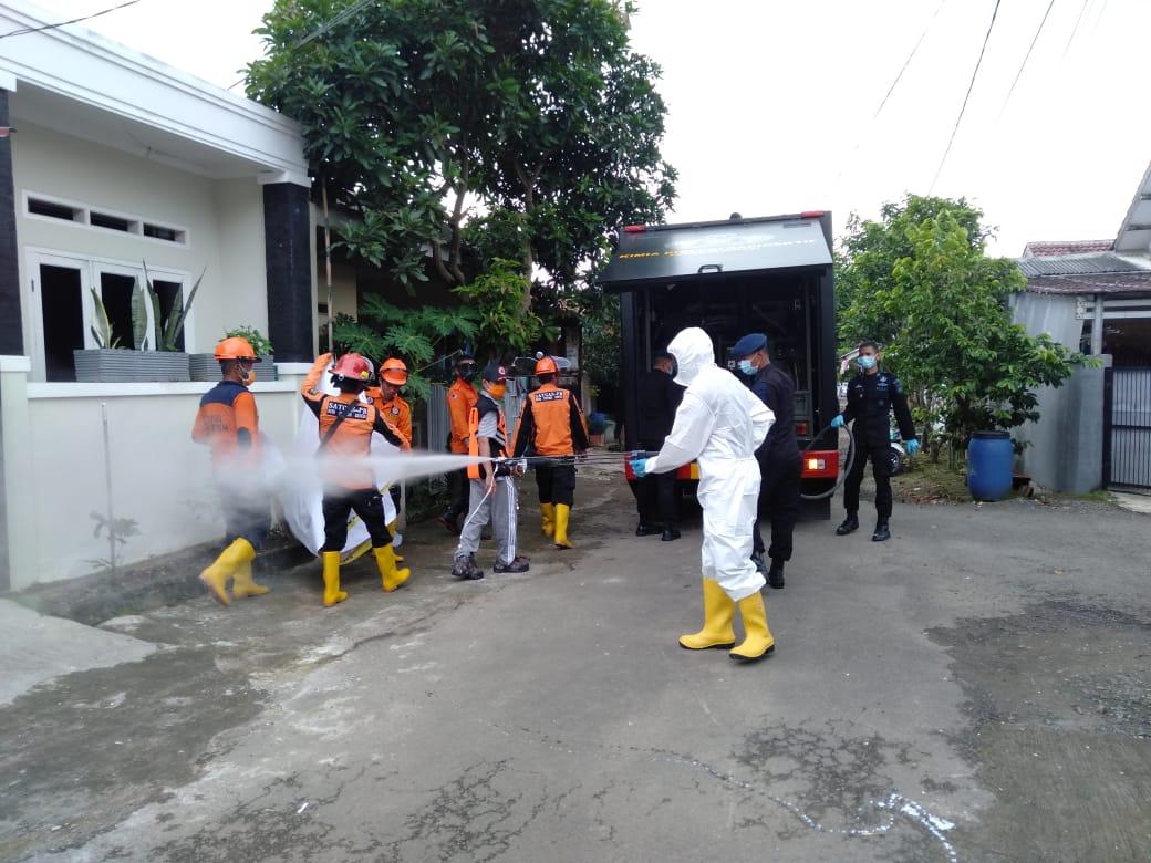 Gubernur Banten Perintahkan Penyemprotan Disinfektan di Perumahan Sekitar RSUD Banten