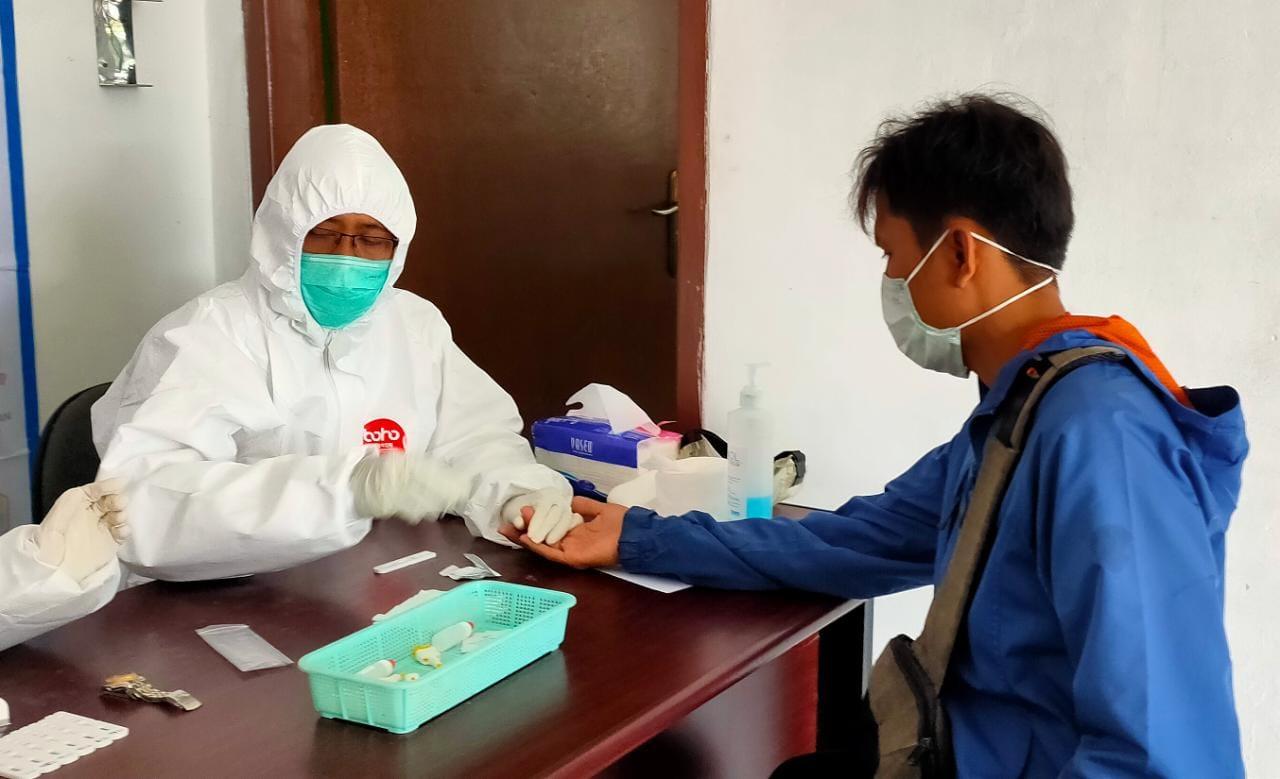 Anggaran Rapid Test di Banten Capai Rp25 Miliar Lebih