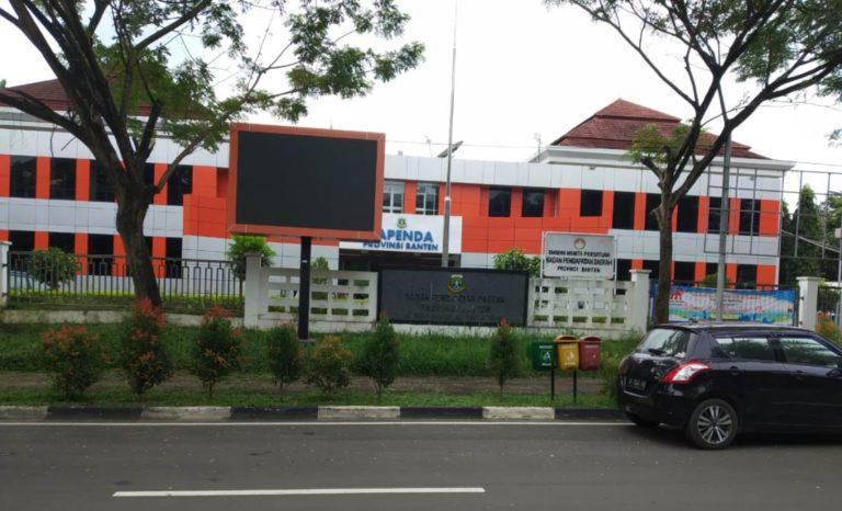 Hari Kedua Masuk, Kantor OPD Provinsi Banten Masih Terlihat Sepi